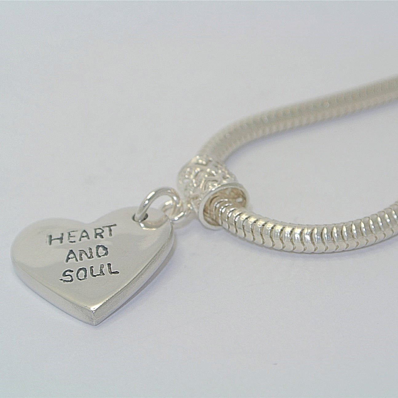 Heart Shape Sterling Silver Pawprint Jewellery