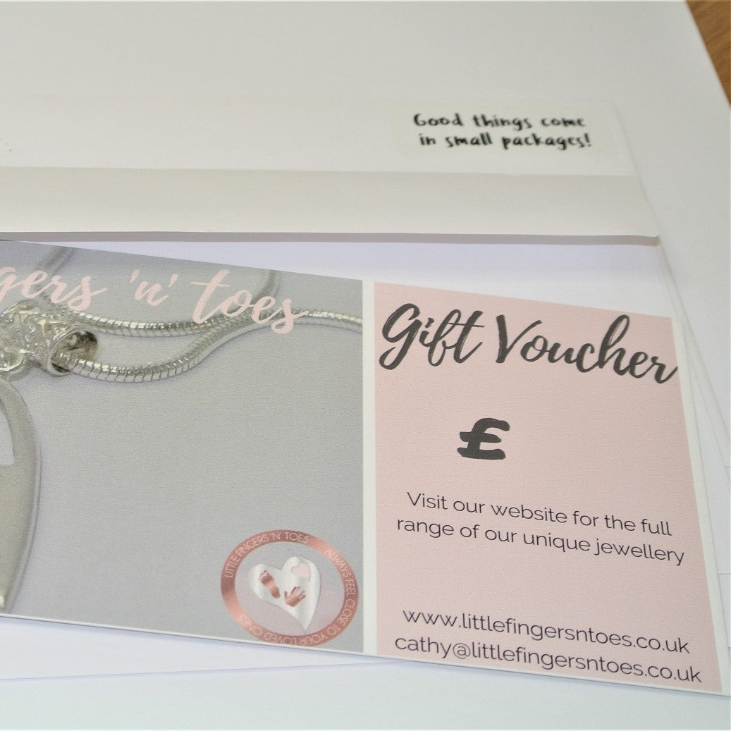 Fingerprint Jewellery Workshop Gift Voucher