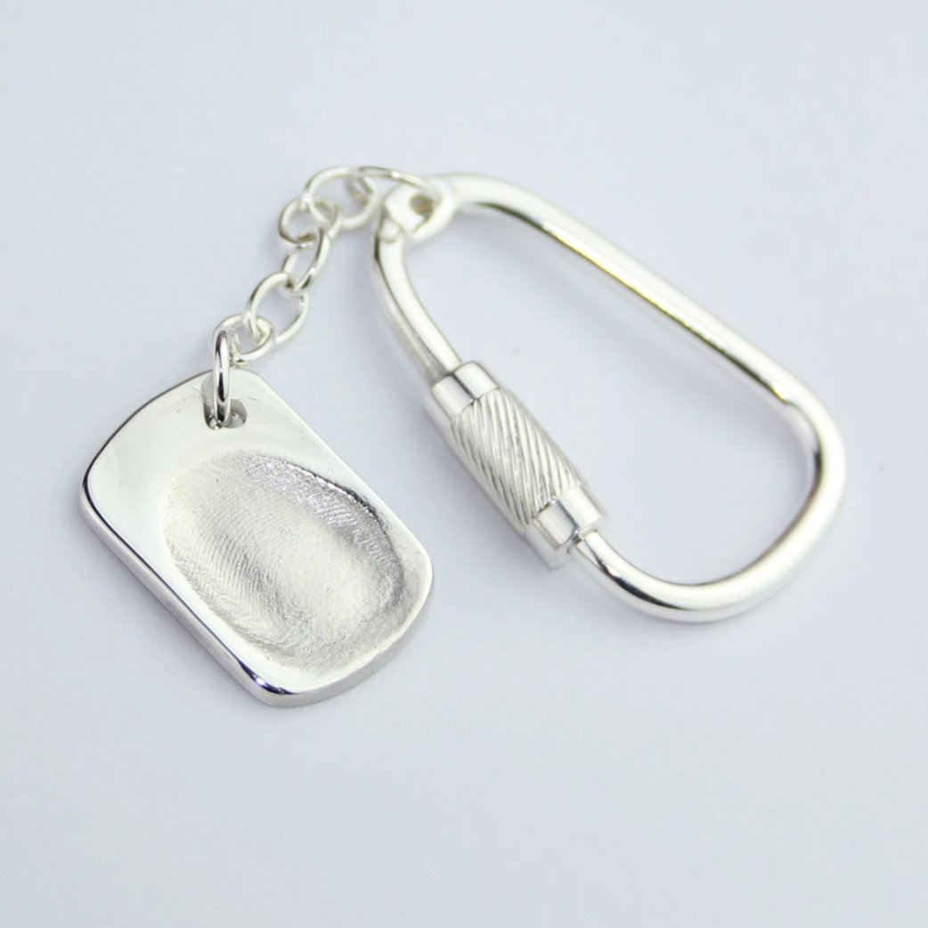 Dogtag Sterling Silver Fingerprint Jewellery