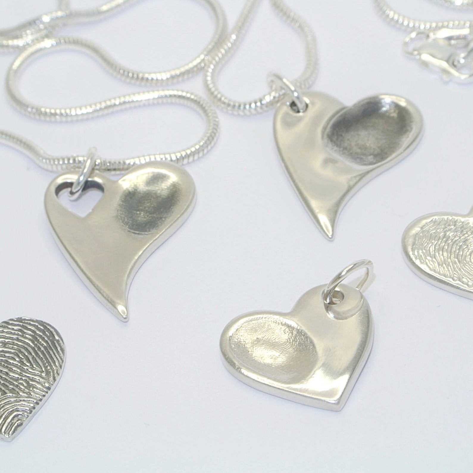 Make Your Own Sterling Silver Fingerprint Jewellery Party At Home