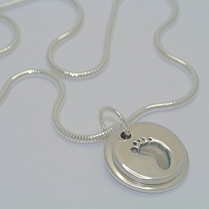 Double Print Descending Necklace