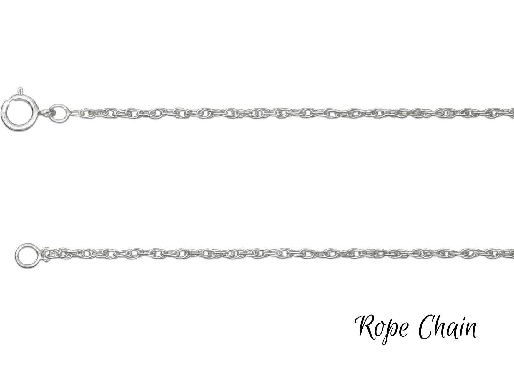 Silver Necklace Chains
