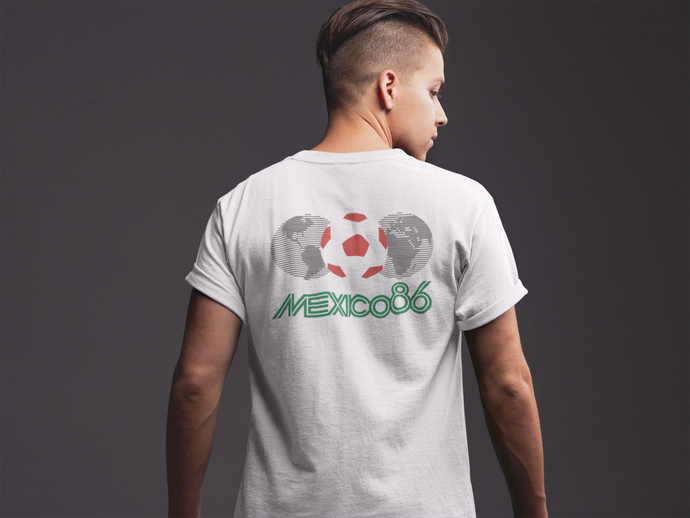 Retro Mexico 1986 World Cup Tshirt