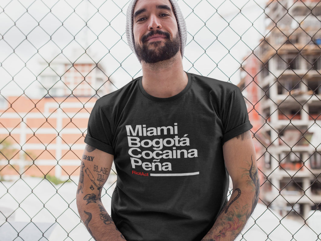 Riot Act South America Narcos Tshirt