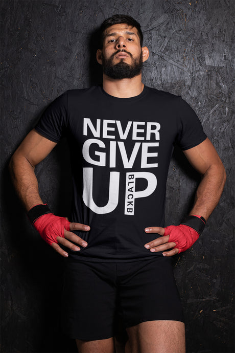 Mohamed Salah Never Give Up Tshirt - RiotActClothing.com