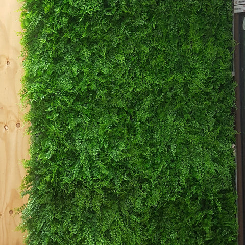 Artificial hedge forest fern