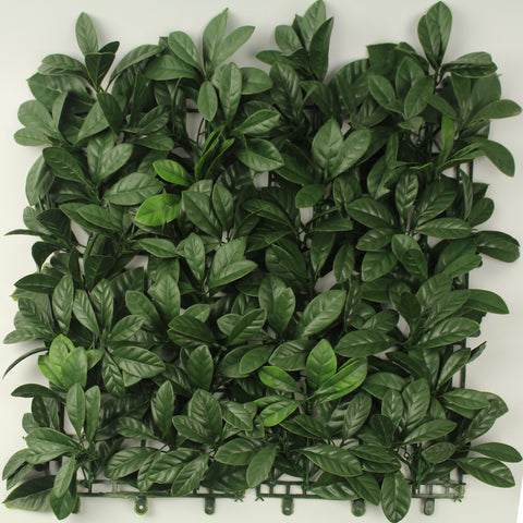 leaf & Living Bay Leaf Green Artificial Hedge
