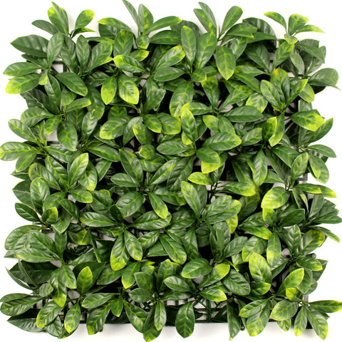 Leaf & Living Bay Leaf Yellow Artificial Hedge