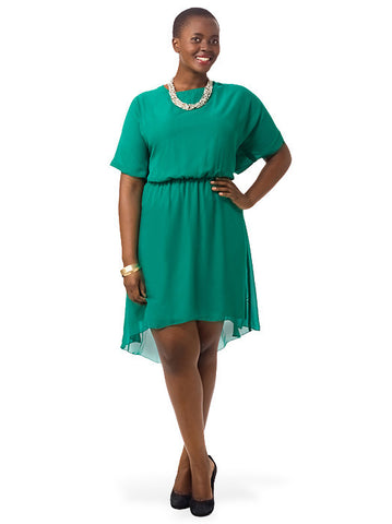 Evie Dress In Green