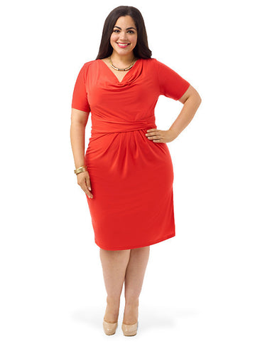 Ippolita Dress In Papaya