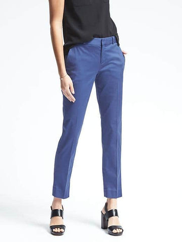 Avery-Fit Solid Sateen Pant