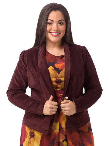Loren Blazer In Windsor Wine