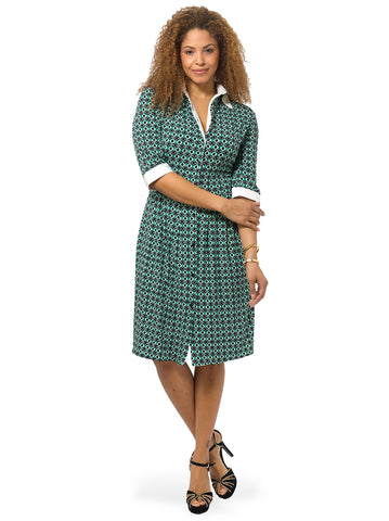 Jade Shirt Dress