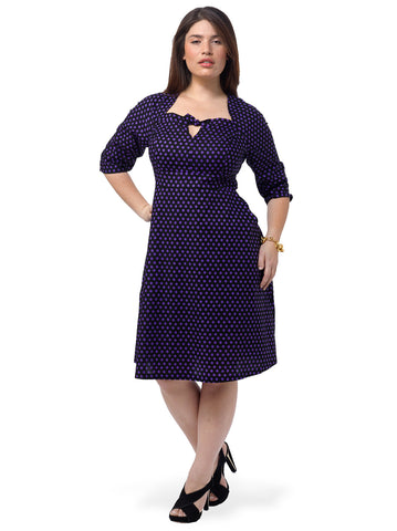Rita Dress In Polka Dots