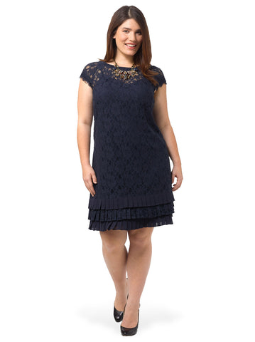 Lace Dress With Tiers