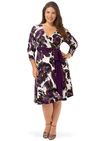Neve Dress In Lavender Floral
