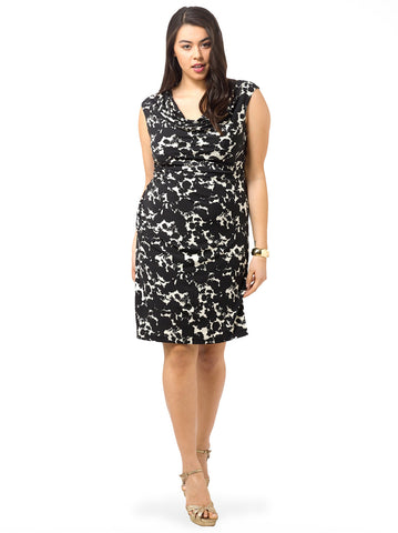 Flowerscape Sheath Dress