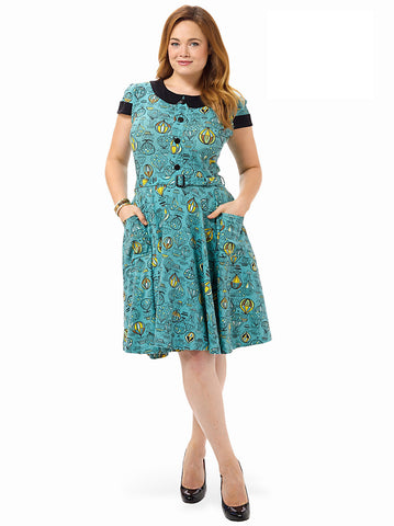 Jane Dress In Up & Away Print
