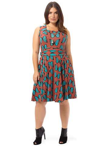 Dolce Vita Dress In Mariposa Print