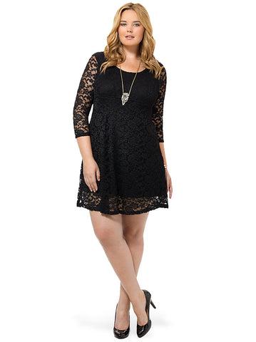 Vartan Tunic Dress In Black