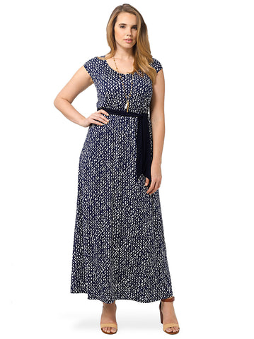 Tiana Maxi Dress In Hampton Royal