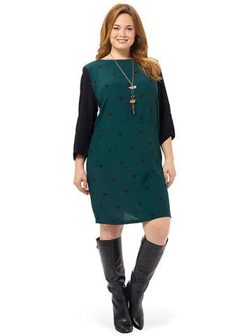 Jade Dress In Green