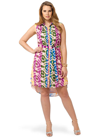 Multi Color Bohemian Dress