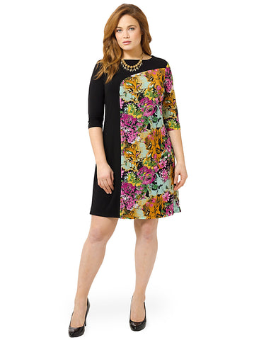 Marcel Dress In Fuchsia Floral