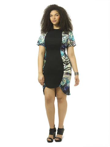 Stacey Color Block Dress