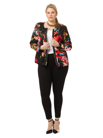 Louise Jacket in Floral Print