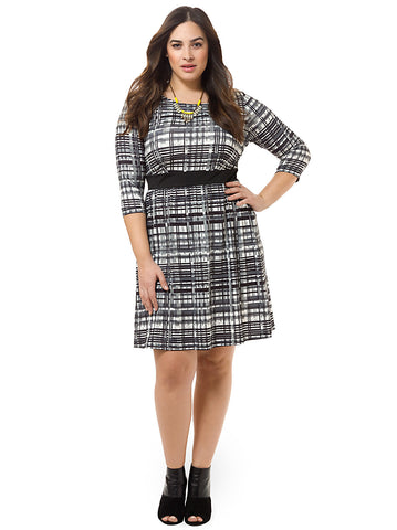 Classic Plaid Chelsea Dress