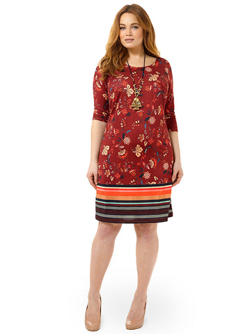 Potpourri Printed Shift Dress