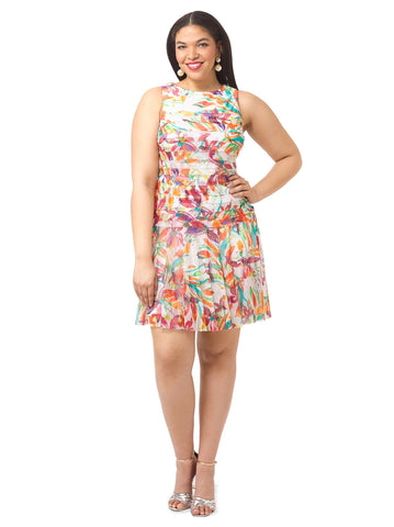 Shutter Dress In Floral Print