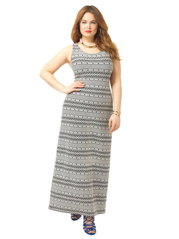 Seamus Jacquard Maxi Dress