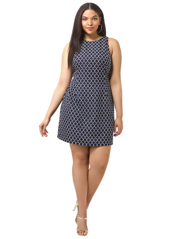 Manix Jacquard Dress