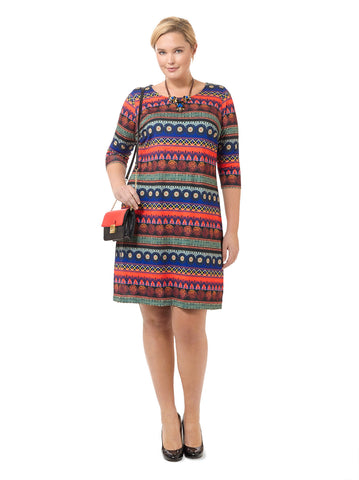 Cozumel Printed Shift Dress