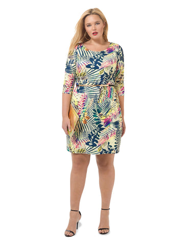 Amazon Printed Shift Dress