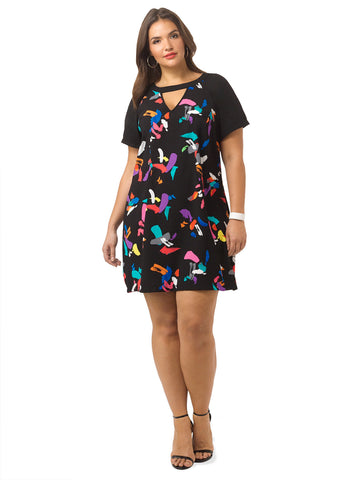 Graffiti Girl Dress
