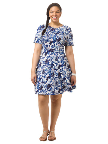 Butterfly Seamed Dress