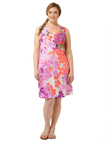 Painted Garden Tank Dress