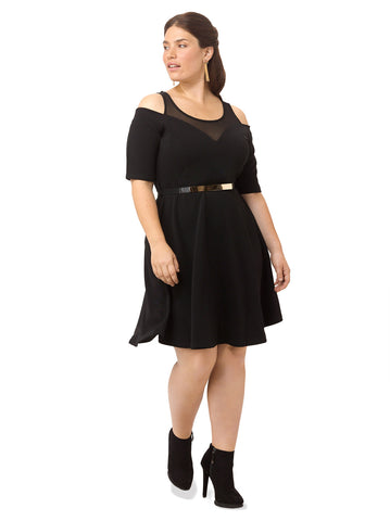 Noir Swing Dress