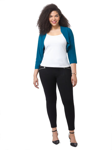 Sydney Shrug In Bombay Teal