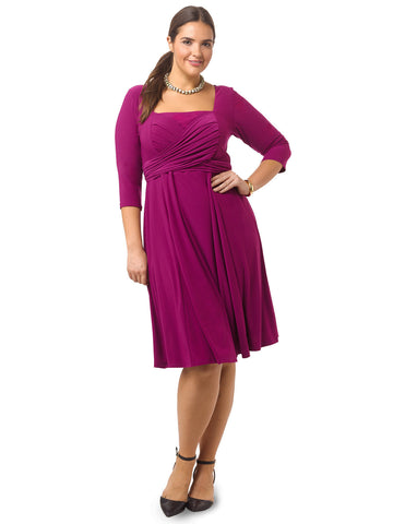 Tiffany Dress In Magenta