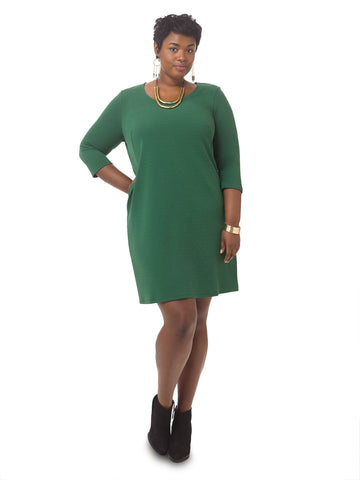 Flavia 3/4 Sleeve Dress