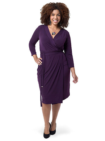 Essential Wrap Dress