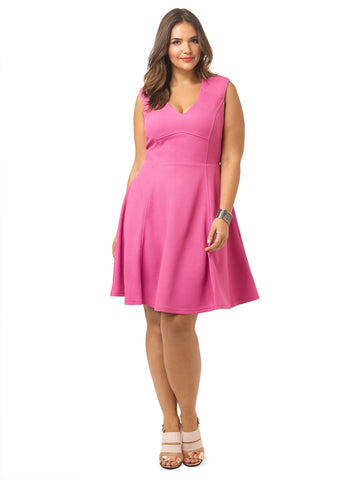 Pink Lady Swing Dress