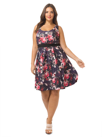 Floating Rose Dress