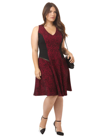 Ruby Animal Swing Dress