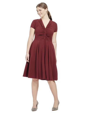 Rosina Dress In Red