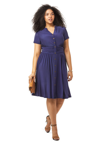 Chelsea Shirtdress In Navy